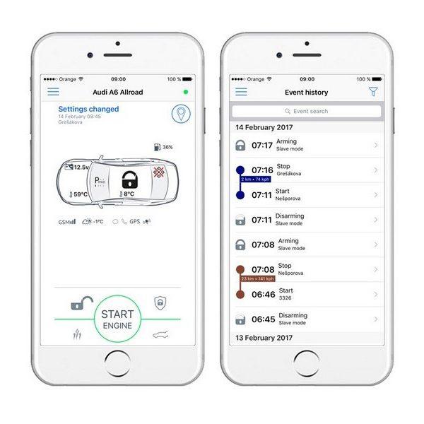 Auto alarmni sustav Pandora SMART