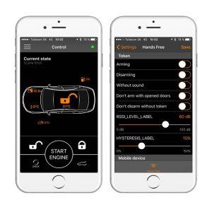 Auto alarm Pandora Light Pro