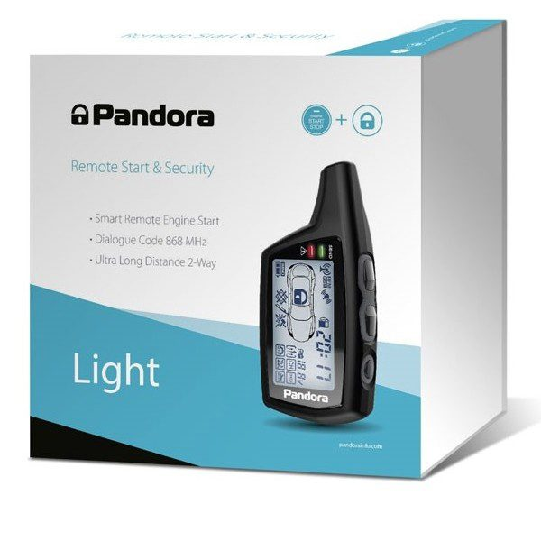 Auto alarm Pandora Light