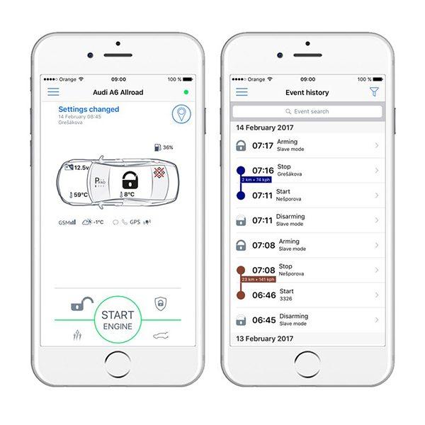 Auto alarmni sustav Pandora SMART Pro